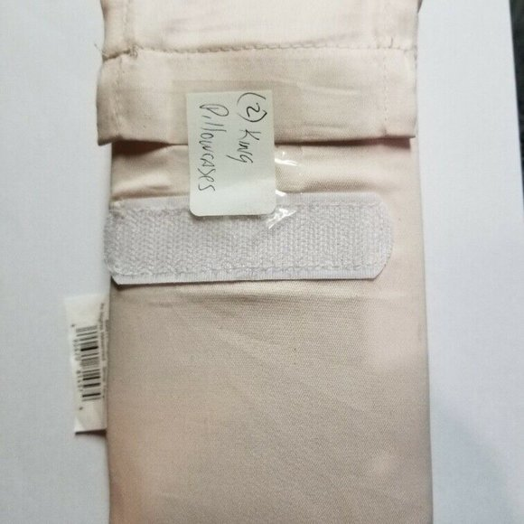 Solid Pillowcases 300 TC Belle King Pink